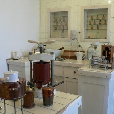 Stadtapotheke: Blick ins Labor der 1950er Jahre